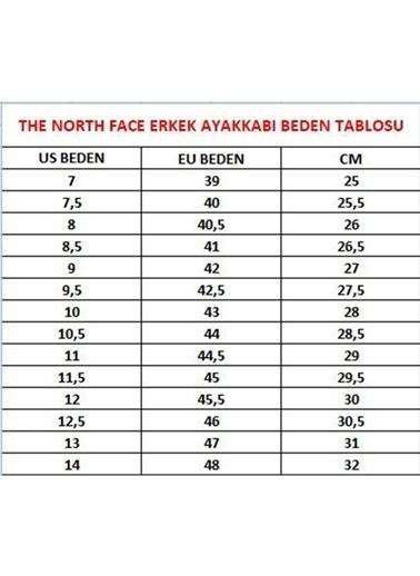 The North Face Outdoor Ayakkabı Lacivert